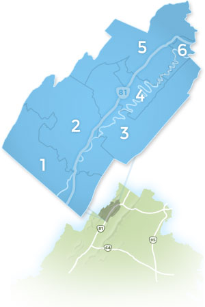 Shenandoah County Districts