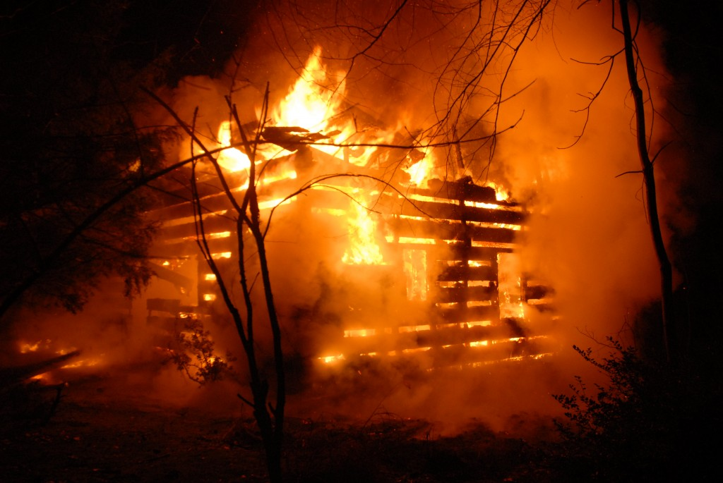 Cabin Outside Of Edinburg Destroyed By Fire Fire Amp Rescue