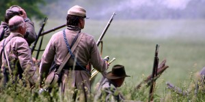 Civil War Reenactors at Battle of New Market