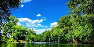 Crisp Blue Sky Shenandoah River