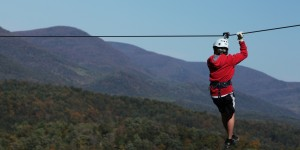 Zip Line at Bryce Resort, Shenandoah Valley