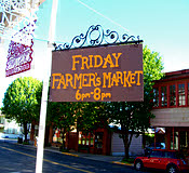 Farmers' Market at Cristina's Cafe