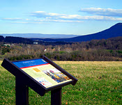 Fisher's Hill Battlefield: Toms Brook/Strasburg area